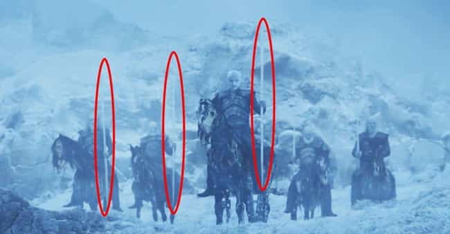 The Ice Javelins Were Cl... is listed (or ranked) 4 on the list This Fan Theory About The Night King And His New Dragon Is Blowing Up On Reddit