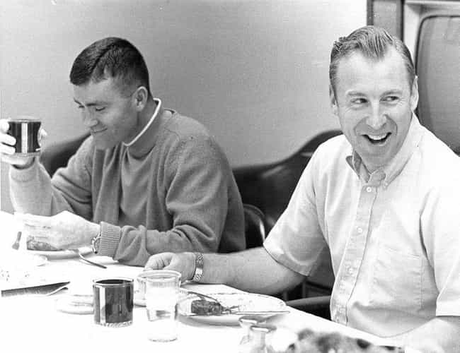 Apollo 13's Fred Haise And... is listed (or ranked) 3 on the list Vintage Pictures Of US Astronauts Hanging Out Being Chill As Hell