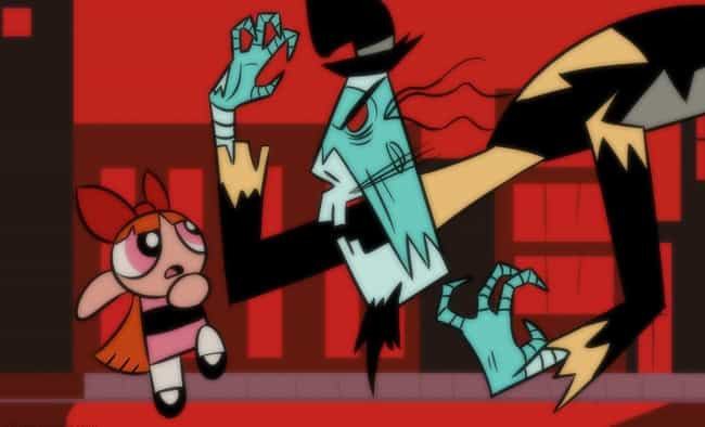 Abracadaver is listed (or ranked) 4 on the list 'Powerpuff Girls' Had The Weirdest, Most Unsettling Villains Of All Time