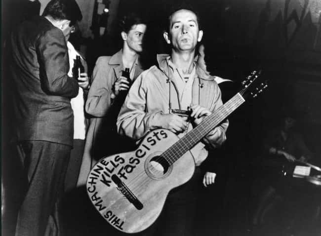 'Old Man Trump' Was Fi is listed (or ranked) 10 on the list Donald Trump's Dad Was So Racist That Woody Guthrie Wrote A Song About How Racist He Was
