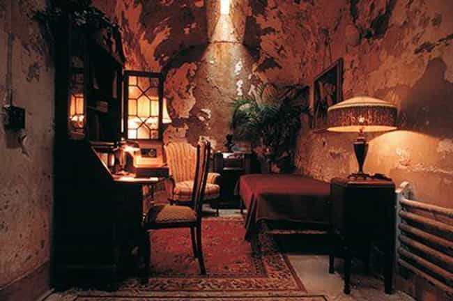It Resembled The Swanky Cell I... is listed (or ranked) 1 on the list Al Capone's Prison Cell Was Nicer Than A New York Studio Apartment