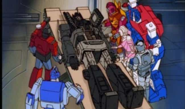 Optimus Prime is listed (or ranked) 3 on the list TV Characters Brought Back To Life (Because Fans Got Pissed)