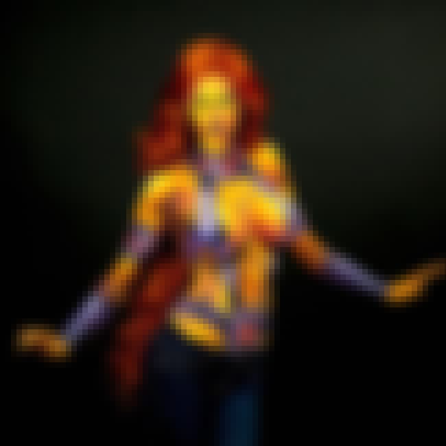 Starfire is listed (or ranked) 2 on the list Utterly Eye-Popping Body Paint Cosplay From Kay Pike