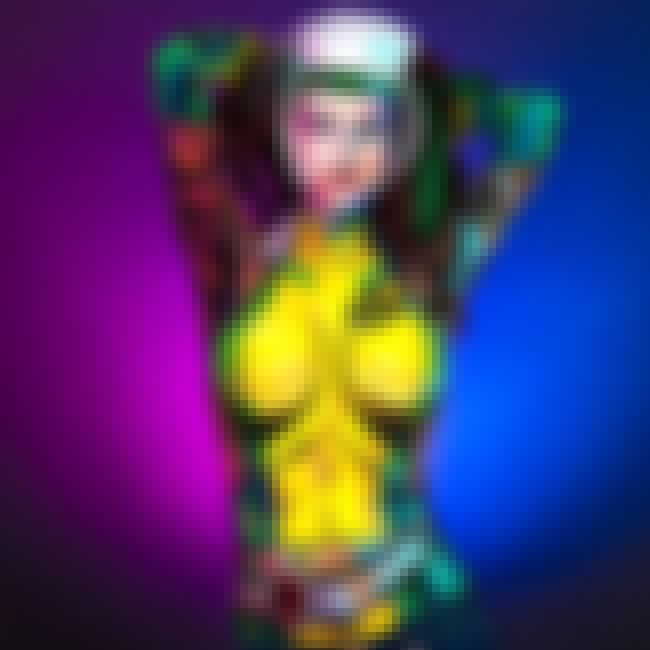Rogue is listed (or ranked) 1 on the list Utterly Eye-Popping Body Paint Cosplay From Kay Pike