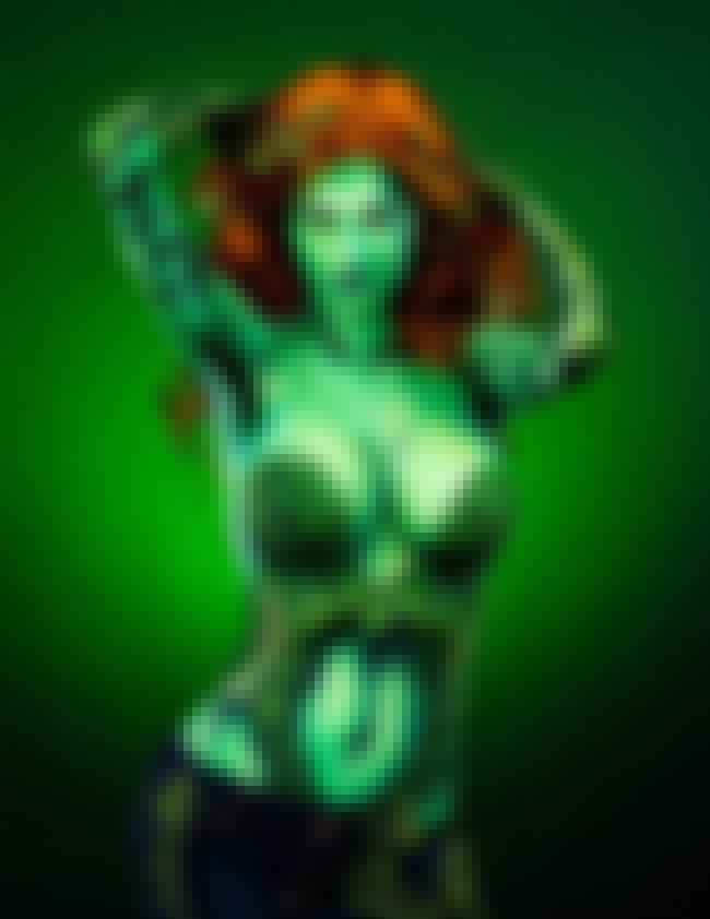 Poison Ivy is listed (or ranked) 4 on the list Utterly Eye-Popping Body Paint Cosplay From Kay Pike