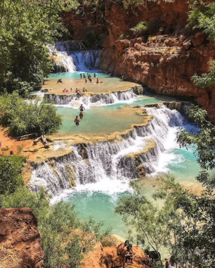 Image of Random Secret Natural Swimming Holes To Add To Your Travel List