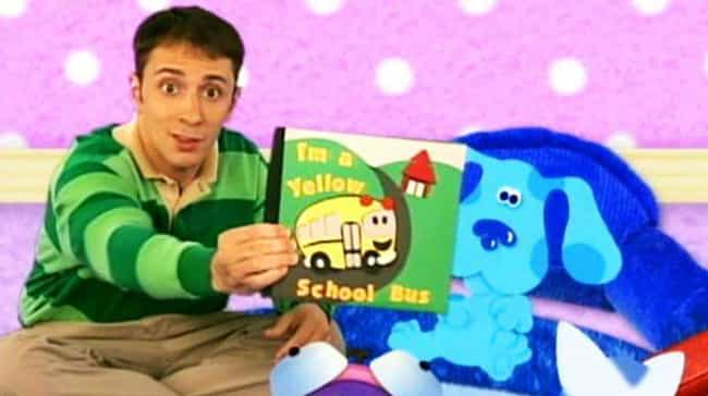 Steve's A Babysitter is listed (or ranked) 1 on the list Blue's Clues Fan Theories