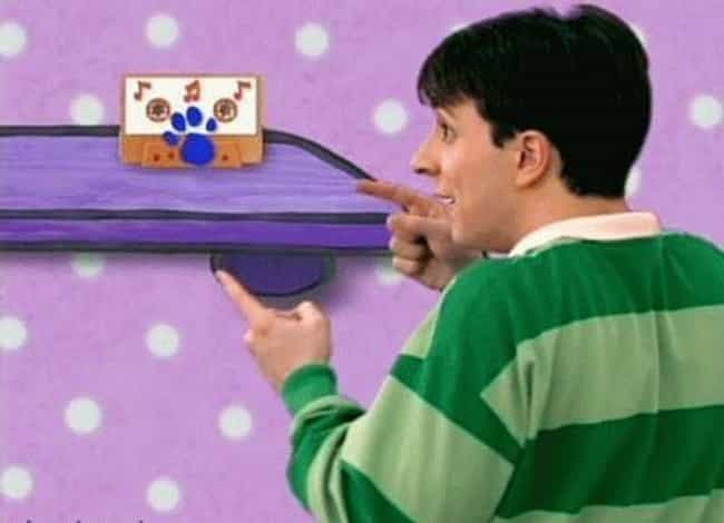 Steve Was In The CIA is listed (or ranked) 3 on the list Blue's Clues Fan Theories