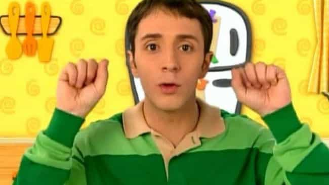 Steve Has Agoraphobia is listed (or ranked) 4 on the list Blue's Clues Fan Theories