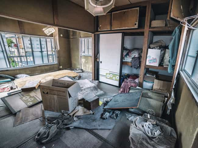 The Interior Of An Evacuated A... is listed (or ranked) 2 on the list Haunting Images of Fukushima, The Abandoned Nuclear Radiation Ghost Town