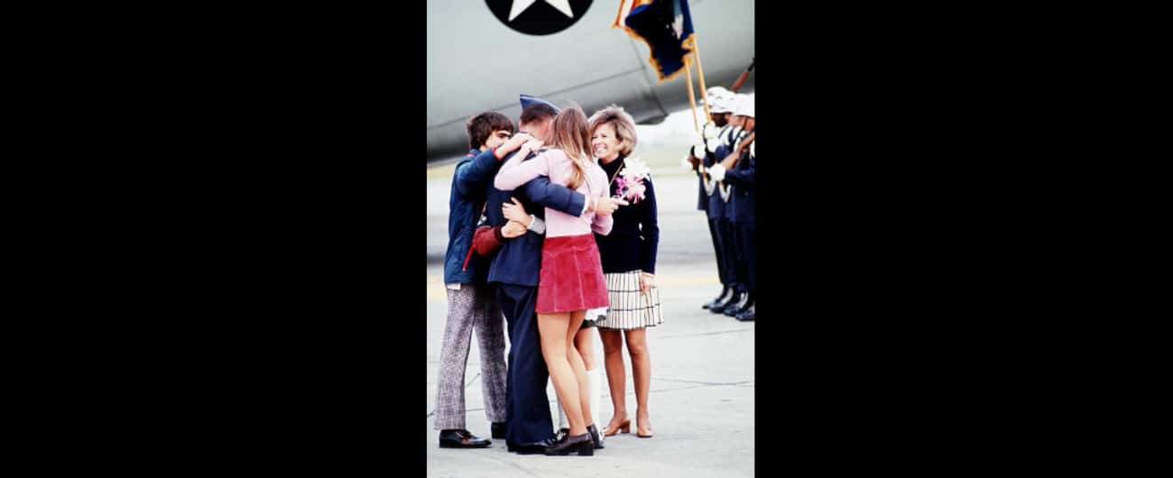 The Real Star Of The Photograp is listed (or ranked) 3 on the list 'Burst Of Joy' Shows A Vietnam Vet Reuniting With His Family - But There's No Happy Ending Here