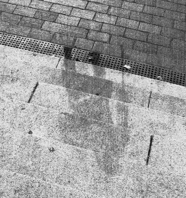 Figure Walking With A Cane is listed (or ranked) 1 on the list 11 Haunting Photos Of Shadows Permanently Burned Into The Ground By The Hiroshima Nuclear Blast
