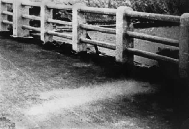 A Man Who Fell On A Bridge is listed (or ranked) 4 on the list 11 Haunting Photos Of Shadows Permanently Burned Into The Ground By The Hiroshima Nuclear Blast
