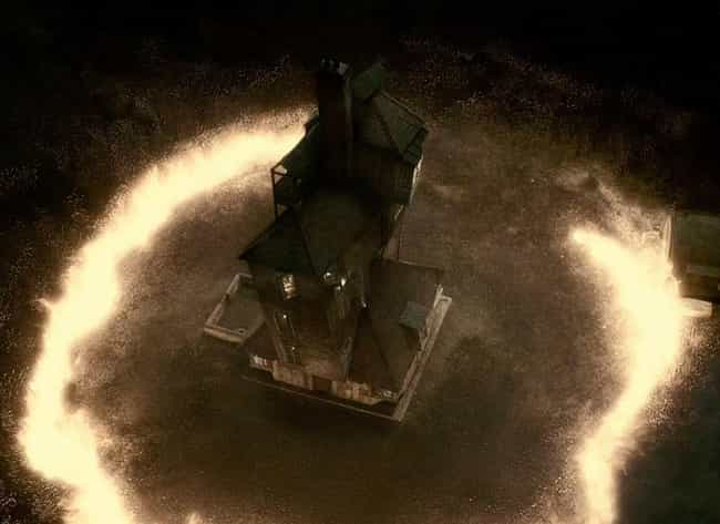 The Burning Of The Burrow is listed (or ranked) 4 on the list Serious Harry Potter Fans Completely Freak Out Over These Parts Of The Movies