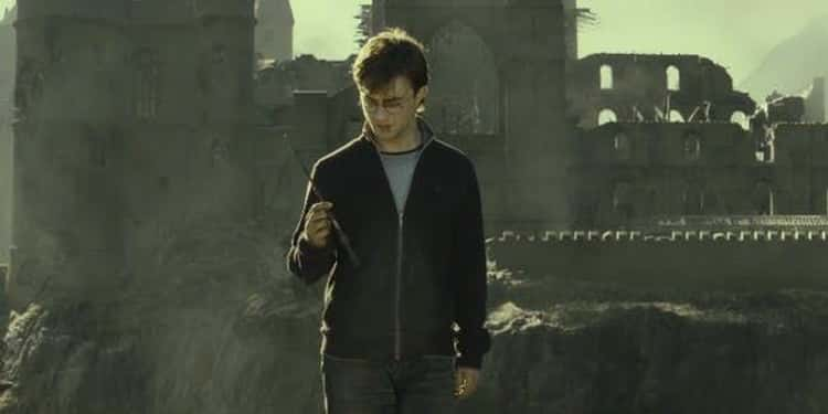 Harry Not Repairing His Own Wand When He Has The Elder Wand