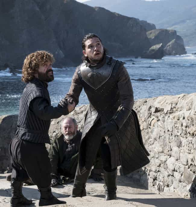 Tyrion And Jon Developed... is listed (or ranked) 1 on the list The Utterly Bizarre Original Ending To Game Of Thrones