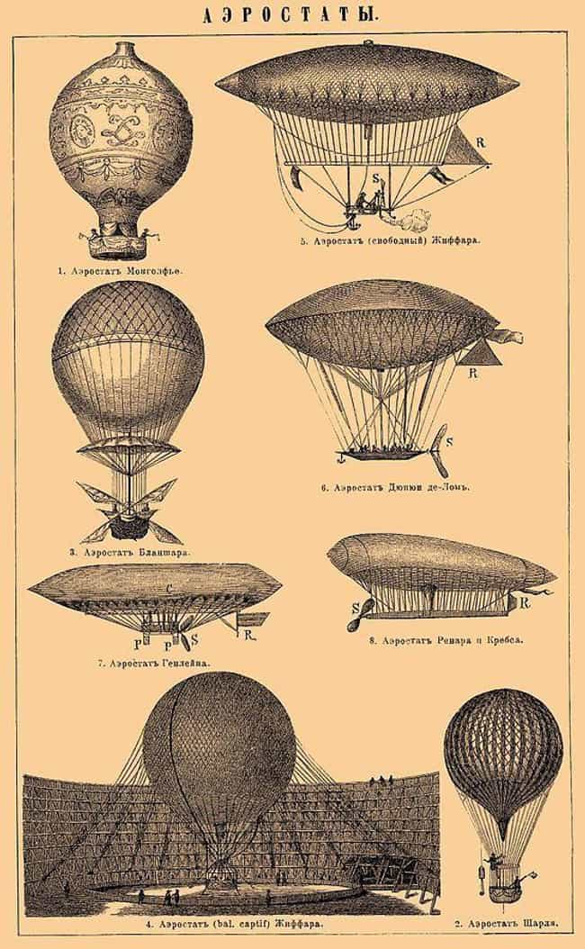 Zeppelins Were Considered The ... is listed (or ranked) 2 on the list Did You Know The Empire State Building Was Originally Designed To Be A Blimp Airport?