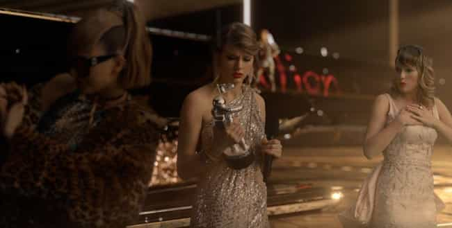 One Taylor Specifically ... is listed (or ranked) 4 on the list Taylor Swift's 'Look What You Made Me Do' Video Is Full Of Easter Eggs Calling Out Her Enemies
