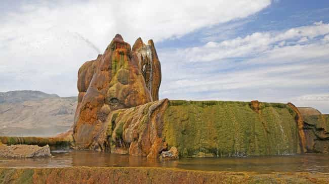 Fly Geyser Was The Result Of A... is listed (or ranked) 5 on the list The Most Beautiful Natural Wonder You've Never Seen Was Accidentally Created By A Power Company