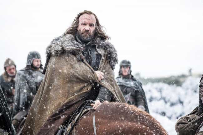 The Hound is listed (or ranked) 2 on the list After A Decidedly Mixed Season 7, How Did You Feel About Every Character's Arc In Game Of Thrones?