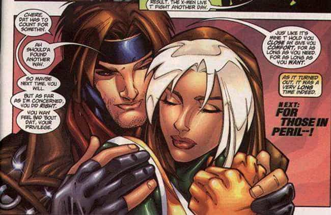 Gambit And Rogue is listed (or ranked) 3 on the list Marvel Superhero Relationships That Are Way Healthier Than They Seem
