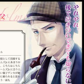 Sherlock Holmes is listed (or ranked) 10 on the list The Best British Anime Characters