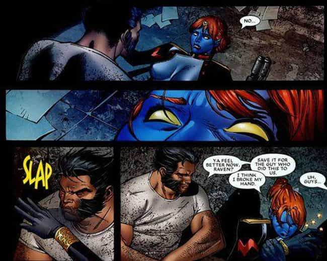 Wolverine And Mystique is listed (or ranked) 1 on the list Marvel Superhero Relationships That Are Way Healthier Than They Seem