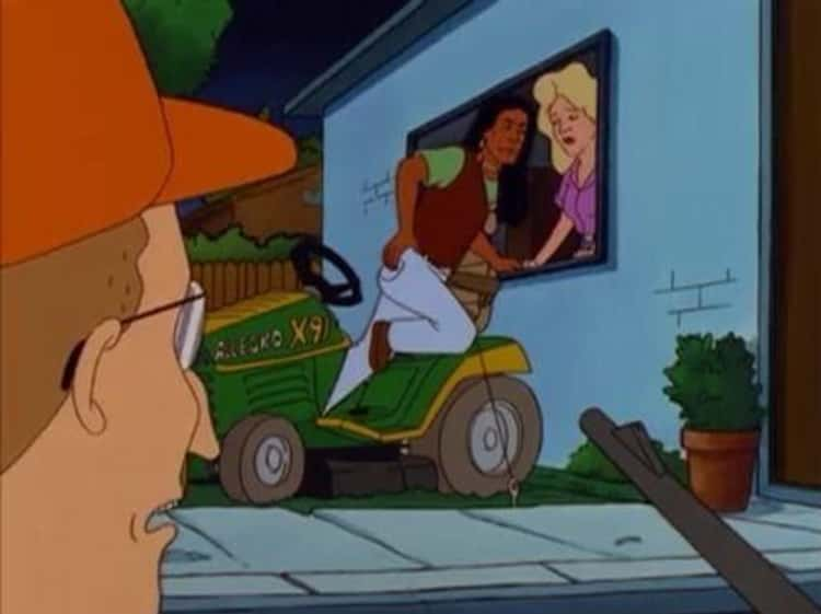 Dale Catches John Redcorn In The Act