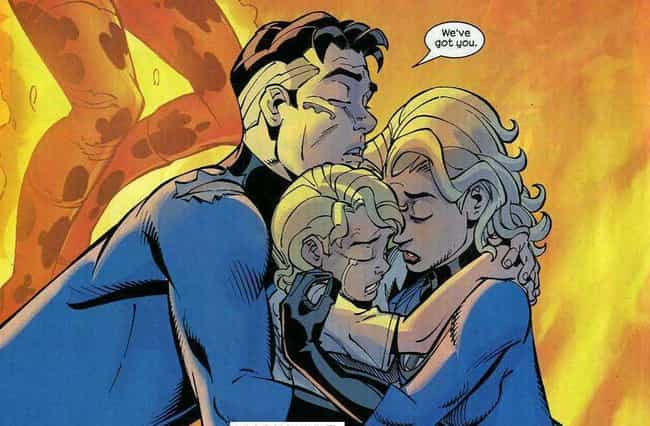 Mister Fantastic And Inv... is listed (or ranked) 4 on the list Marvel Superhero Relationships That Are Way Healthier Than They Seem