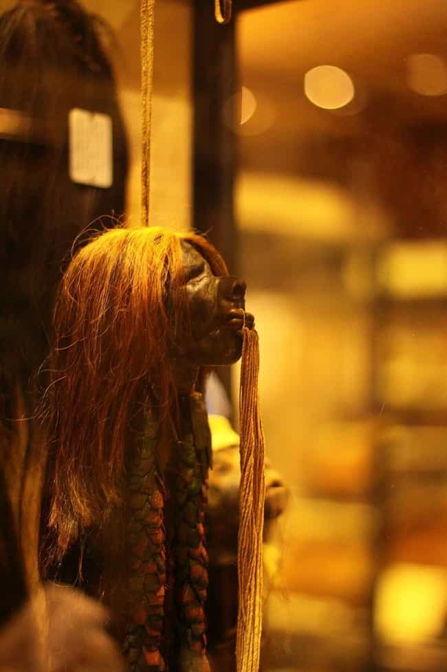 Making A Shrunken Head 1... is listed (or ranked) 2 on the list How Are Shrunken Heads Made And Are They Really Human?