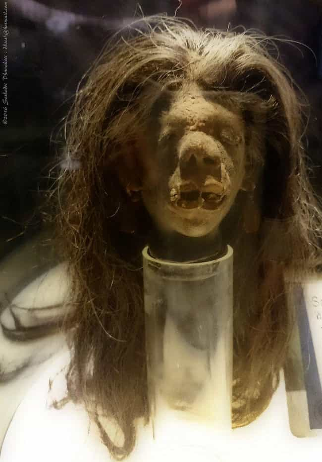 Making A Shrunken Head 1... is listed (or ranked) 4 on the list How Are Shrunken Heads Made And Are They Really Human?