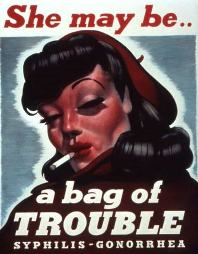 24 Ridiculously Over The Top WWII-Era STD Prevention Posters