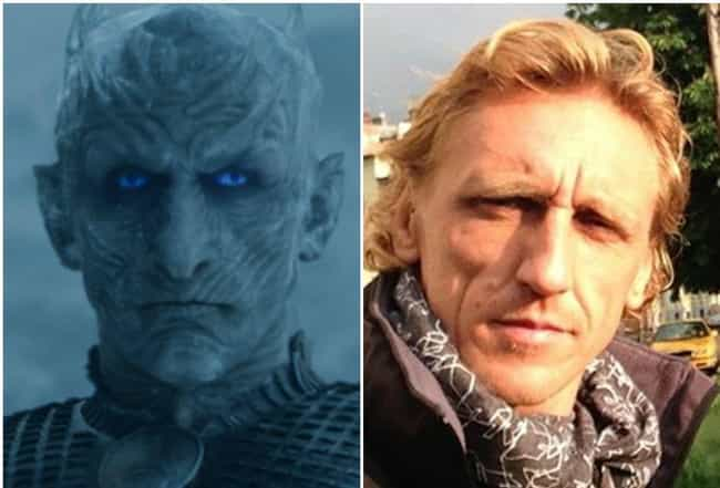 The Night King - Vladimi... is listed (or ranked) 2 on the list Here's What The Game Of Thrones Characters Look Like Outside Of Westeros