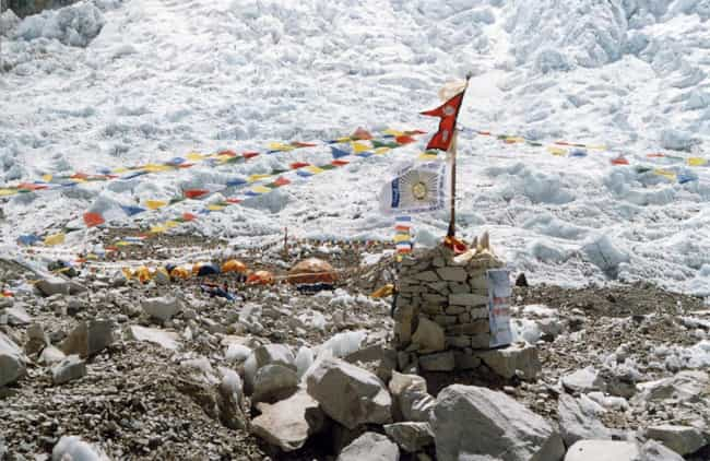 """Green Boots Went Missing... is listed (or ranked) 7 on the list The Tragic Story of """"Green Boots,"""" The Frozen Body On Mt. Everest That Hikers Use As A Checkpoint"""