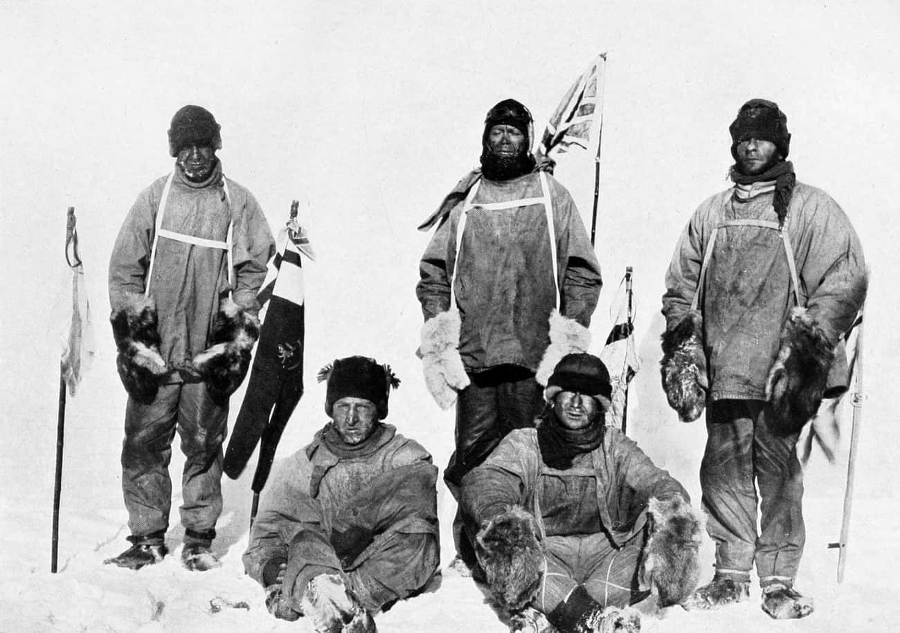 Robert Falcon Scott And Some O is listed (or ranked) 4 on the list Horrifying Ghost Stories From Antarctica That'll Chill You To The Bone