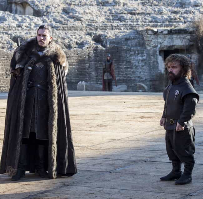 We Know That Tyrion Has ... is listed (or ranked) 3 on the list Tyrion Betrayed Daenerys In The Season 7 Finale, According To This Theory