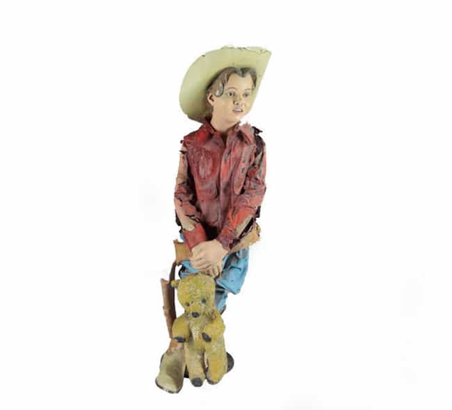 Life-Sized Tattered Boy Statue... is listed (or ranked) 3 on the list A Peek Inside Michael Jackson's Surreal Collections Of Random Hyper-Expensive Collectibles