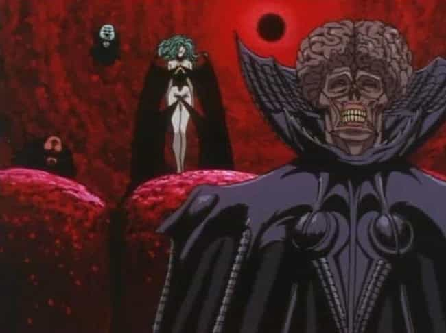 The God Hand - Berserk is listed (or ranked) 4 on the list 15 Scary Anime Monsters That Are Total Nightmare Fuel