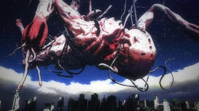 Gauna - Knights Of Sidonia is listed (or ranked) 2 on the list 15 Scary Anime Monsters That Are Total Nightmare Fuel
