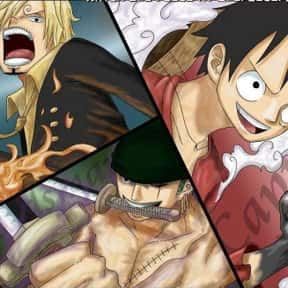 Luffy, Zoro, And Sanji - One P is listed (or ranked) 1 on the list The 20+ Greatest Anime Trios Of All Time