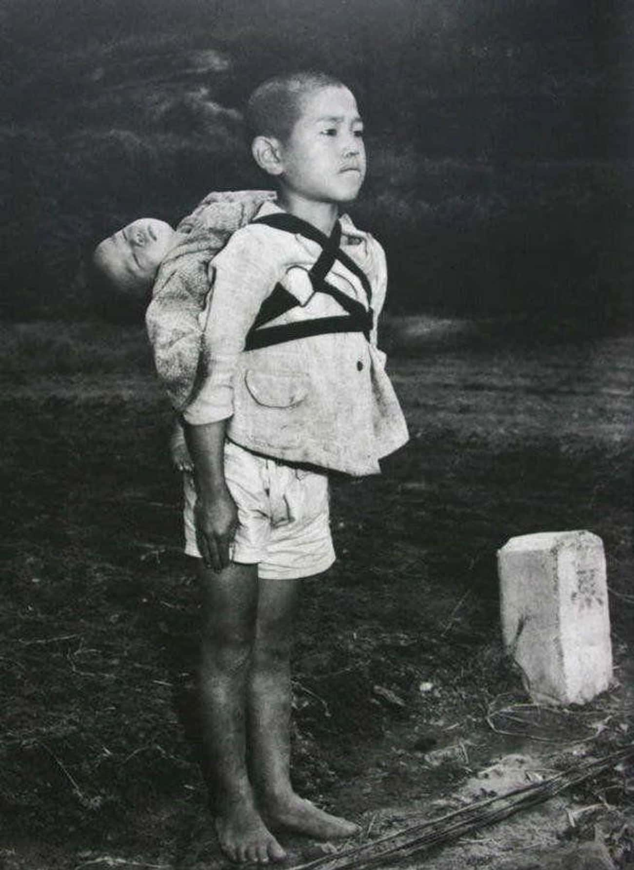 The Boy Was Taking His Decease is listed (or ranked) 1 on the list The Tragic Story Behind The Single Most Depressing Image Of WWII