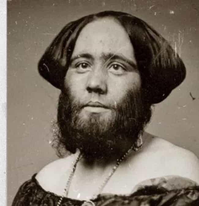 Every single human attraction from pt barnums freak show madame clofullia the bearded lady stopboris Choice Image