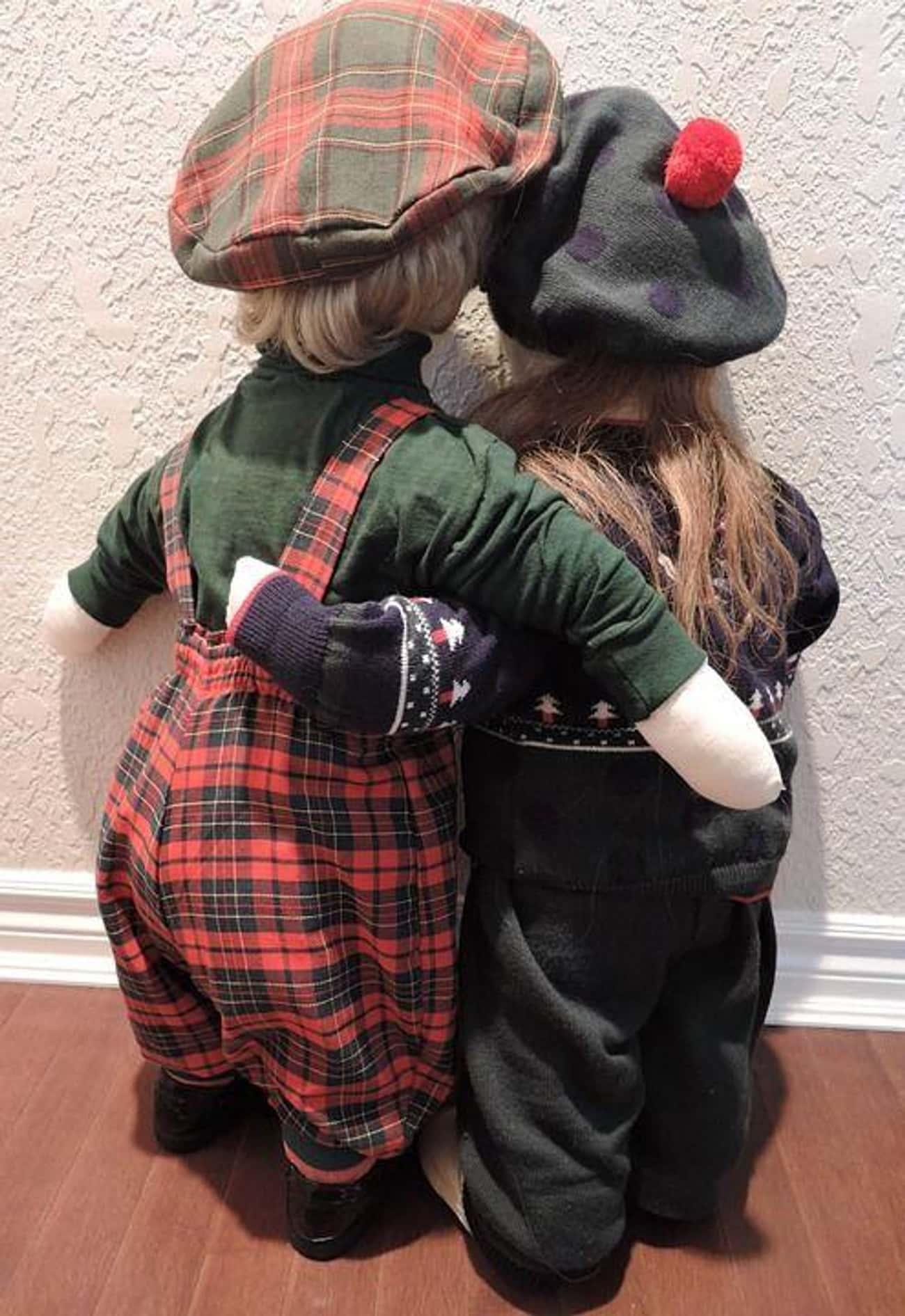 Life-Sized Dolls Of Children