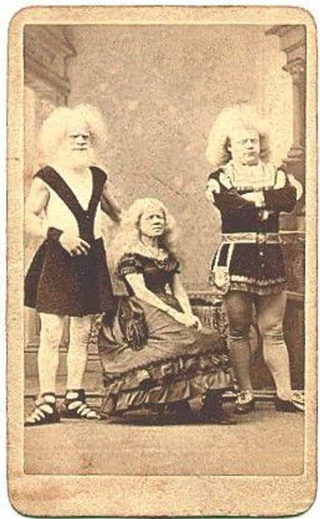 Rudolph Lucasie And His Albino... is listed (or ranked) 2 on the list Every Single Human Attraction From P.T. Barnum's Freak Show