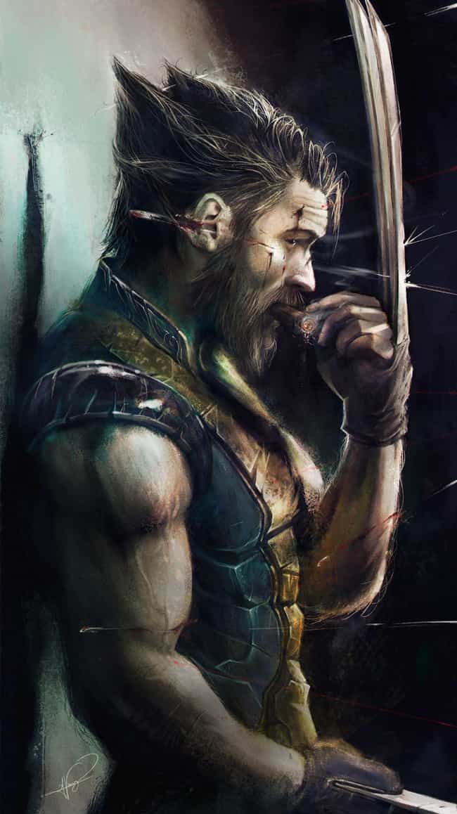 Wolverine is listed (or ranked) 3 on the list These Fans Reimagined Tom Hardy As Your Favorite Comic Book Characters