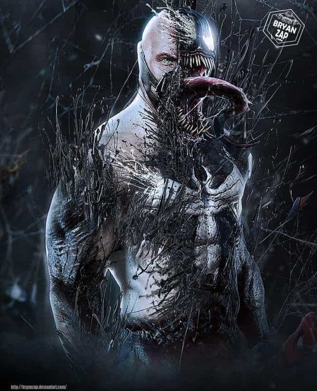 Bane / Venom is listed (or ranked) 4 on the list These Fans Reimagined Tom Hardy As Your Favorite Comic Book Characters