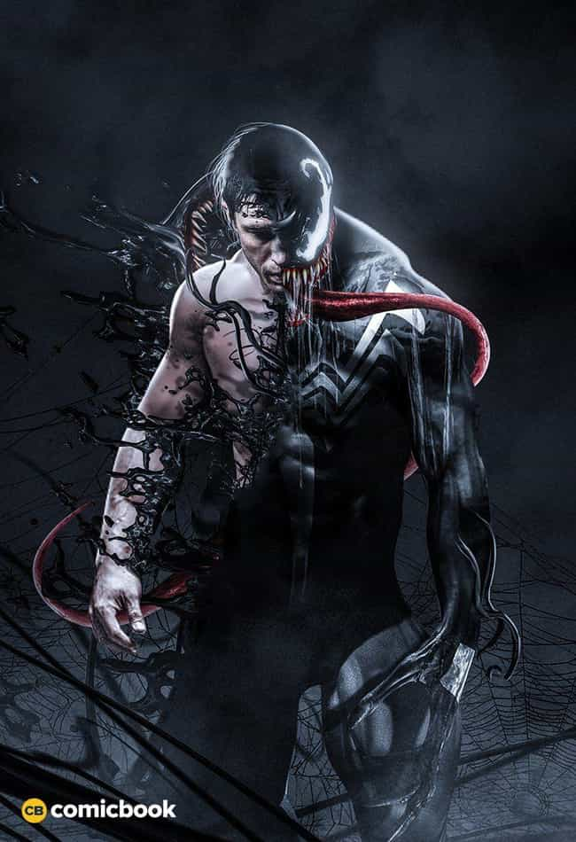 Venom is listed (or ranked) 1 on the list These Fans Reimagined Tom Hardy As Your Favorite Comic Book Characters