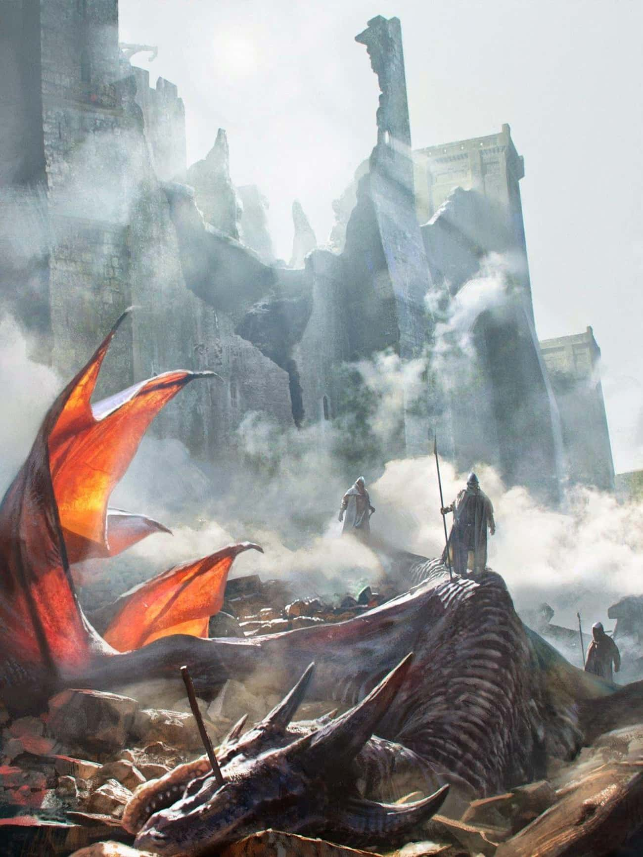 The Targaryen Dragons Started  is listed (or ranked) 3 on the list The Ludicrously Brutal Story Of House Targaryens' Rise And Fall