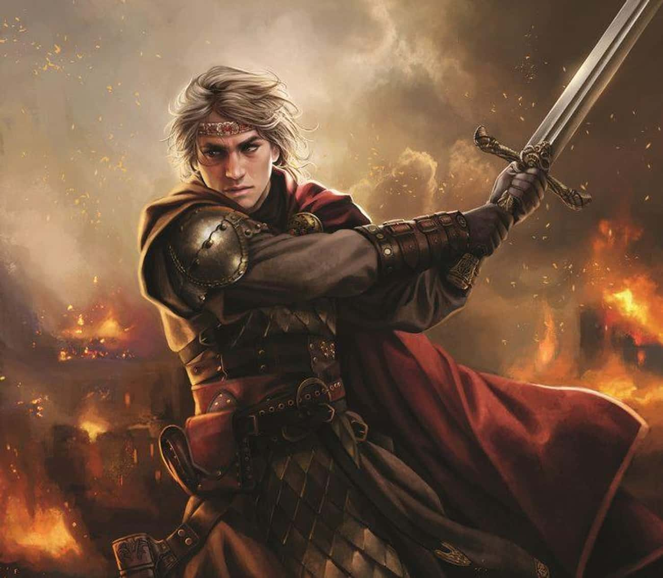 Aegon Targaryen Set Out To Uni is listed (or ranked) 4 on the list The Ludicrously Brutal Story Of House Targaryens' Rise And Fall