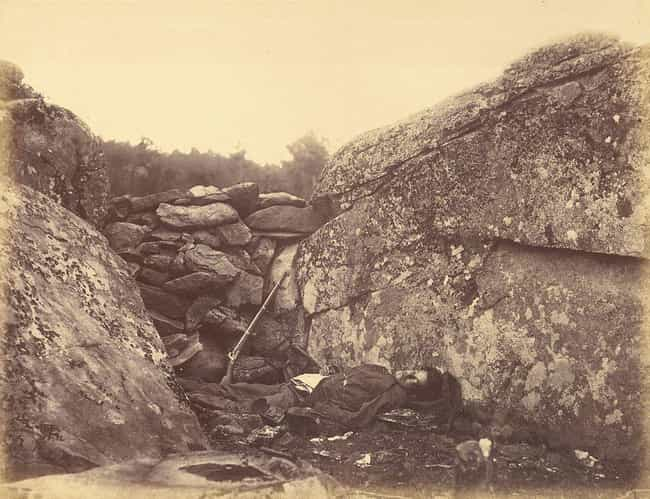 Gardner Would Move Corps... is listed (or ranked) 2 on the list Turns Out These Famous Snapshots From The Civil War Were Staged By The Photographer
